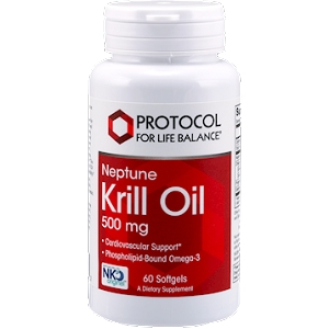 Neptune Krill Oil 500mg, 60 gel capsules