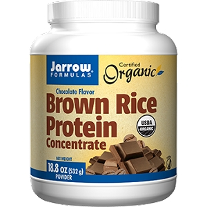 Brown Rice Protein (Chocolate Flavor), 18.8 oz