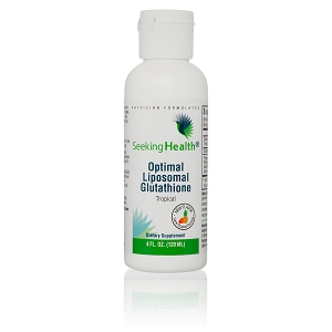 Optimal Liposomal Glutathione (Tropical Flavor), 4 ounce