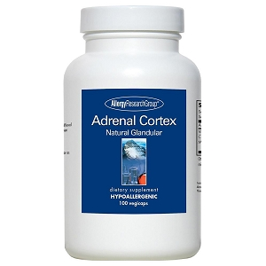 Adrenal Cortex Natural Glandular 100mg, 100 capsules