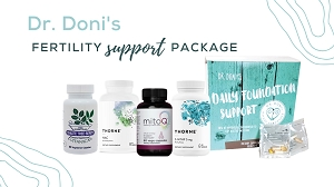 Dr. Doni's Fertility Support Package, 60 Day Supply