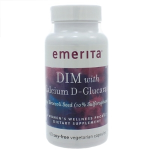 DIM with Calcium D-Glucarate, 60 capsules