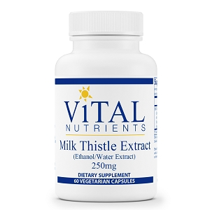 Milk Thistle Extract, 60 capsules