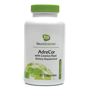 AdreCor with Licorice Root, 90 capsules