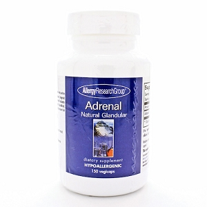 Adrenal Natural Glandular, 150 capsules