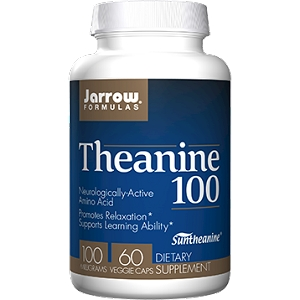 Theanine 100mg, 60 capsules