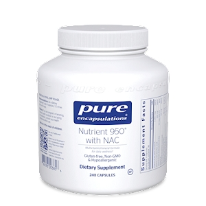 Nutrient 950 with NAC, 240 capsules