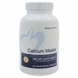 Calcium Malate, 120 vegetarian capsules