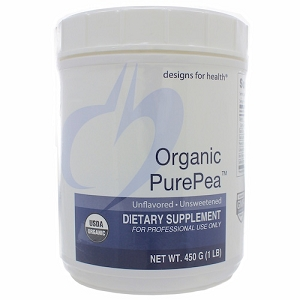 Organic PurePea (Protein) Unflavored/Unsweetened, 450 g