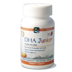 DHA Junior, 180 softgels
