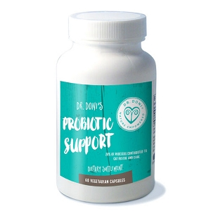 Dr. Doni's Probiotic Support, 60 vegetarian capsules