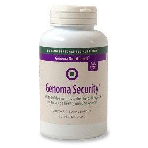 Genoma Security, 60 vegetatian capsules