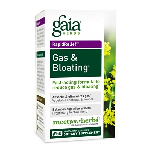 Gas & Bloating, 50 caps