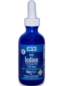 Ionic Iodine from Potassium Iodide, 2 oz
