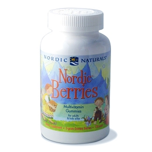 Nordic Berries, 120 chewables