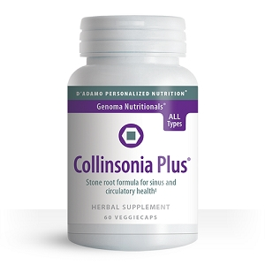 Collinsonia Plus, 60 vegetarian capsules
