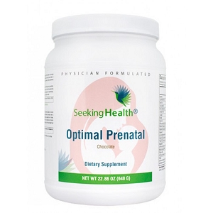 Optimal Prenatal Protein Powder Chocolate, 22.86 oz