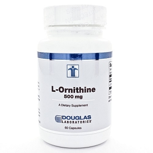 L-Ornithine 500mg, 60 capsules