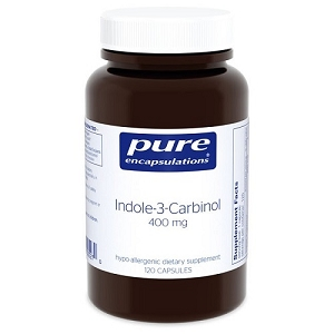 Indole-3-Carbinol 400mg, 120 vegetarian capsules