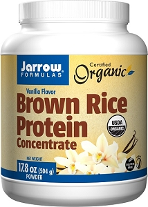 Brown Rice Protein (Vanilla Flavor), 17.8 oz