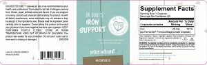 Dr. Doni's Iron Support, 60 capsules