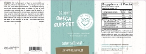 Dr. Doni's Omega Support, 120 capsules