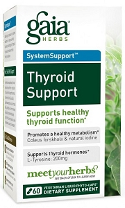 Thyroid Support, 60 capsules