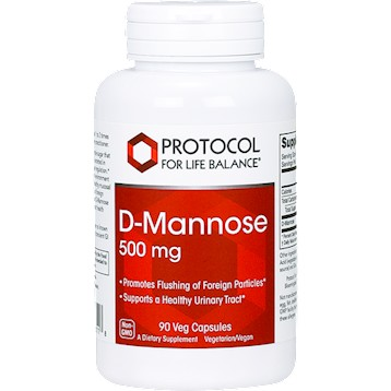 D-Mannose 500mg, 90 capsules