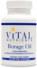 Borage Oil, 60 capsules