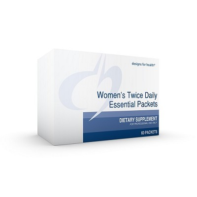 Women's Twice Daily Essential Pack without Iron, 60 pkts